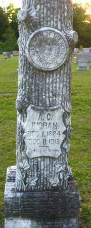 INGRAM, A C - Van Buren County, Arkansas | A C INGRAM - Arkansas Gravestone Photos