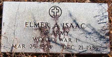ISAAC  (VETERAN WWI), ELMER A. - Van Buren County, Arkansas | ELMER A. ISAAC  (VETERAN WWI) - Arkansas Gravestone Photos
