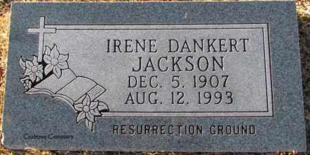 DANKERT JACKSON, IRENE - Van Buren County, Arkansas | IRENE DANKERT JACKSON - Arkansas Gravestone Photos