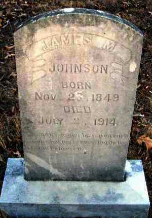 JOHNSON, JAMES M - Van Buren County, Arkansas | JAMES M JOHNSON - Arkansas Gravestone Photos