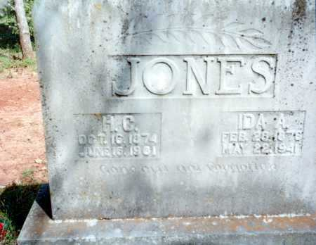 TREADWAY JONES, IDA A. - Van Buren County, Arkansas | IDA A. TREADWAY JONES - Arkansas Gravestone Photos