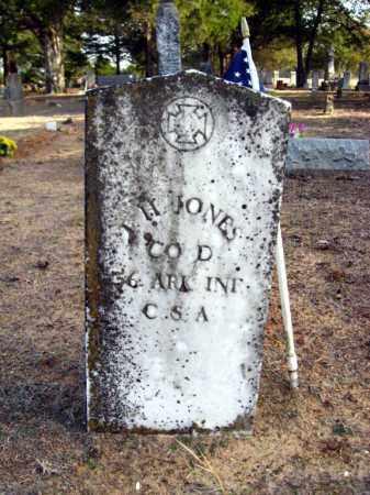 JONES (VETERAN CSA), I  H - Van Buren County, Arkansas | I  H JONES (VETERAN CSA) - Arkansas Gravestone Photos