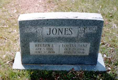 HARNESS JONES, LOUISA JANE - Van Buren County, Arkansas | LOUISA JANE HARNESS JONES - Arkansas Gravestone Photos