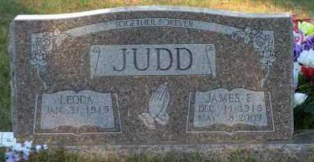 JUDD, JAMES F - Van Buren County, Arkansas | JAMES F JUDD - Arkansas Gravestone Photos