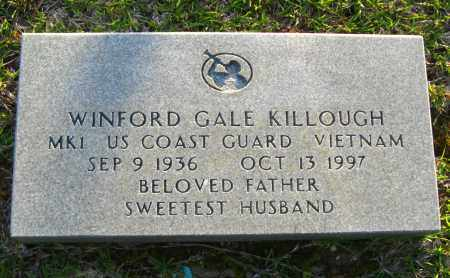 KILLOUGH  (VETERAN VIET), WINFORD GALE - Van Buren County, Arkansas | WINFORD GALE KILLOUGH  (VETERAN VIET) - Arkansas Gravestone Photos
