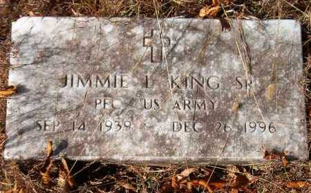 KING, SR (VETERAN), JIMMIE L - Van Buren County, Arkansas | JIMMIE L KING, SR (VETERAN) - Arkansas Gravestone Photos