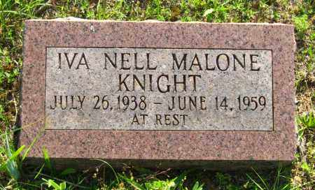 MALONE KNIGHT, IVA NELL - Van Buren County, Arkansas | IVA NELL MALONE KNIGHT - Arkansas Gravestone Photos