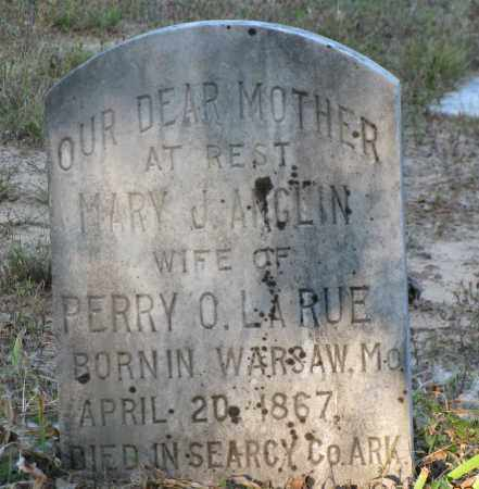 LARUE, MARY J - Van Buren County, Arkansas | MARY J LARUE - Arkansas Gravestone Photos