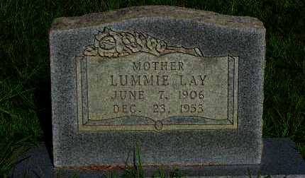 LAY, LUMMIE - Van Buren County, Arkansas | LUMMIE LAY - Arkansas Gravestone Photos