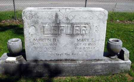 LEFLER, MARY E - Van Buren County, Arkansas | MARY E LEFLER - Arkansas Gravestone Photos
