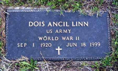 LINN  (VETERAN WWII), DOIS ANCIL - Van Buren County, Arkansas | DOIS ANCIL LINN  (VETERAN WWII) - Arkansas Gravestone Photos