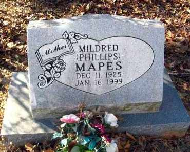 MAPES, MILDRED - Van Buren County, Arkansas | MILDRED MAPES - Arkansas Gravestone Photos