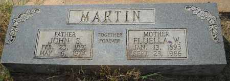 MARTIN, FLUELLA - Van Buren County, Arkansas | FLUELLA MARTIN - Arkansas Gravestone Photos