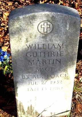 MARTIN (VETERAN), WILLIAM GUTHRIE - Van Buren County, Arkansas | WILLIAM GUTHRIE MARTIN (VETERAN) - Arkansas Gravestone Photos