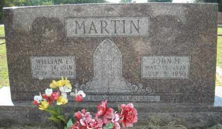 MARTIN, WILLIAM E - Van Buren County, Arkansas | WILLIAM E MARTIN - Arkansas Gravestone Photos