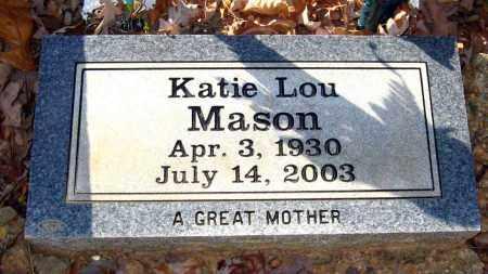 MASON, KATIE LOU - Van Buren County, Arkansas | KATIE LOU MASON - Arkansas Gravestone Photos