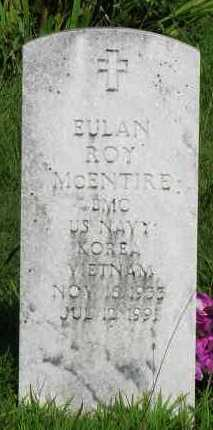MCENTIRE (VETERAN 2 WARS), EULAN ROY - Van Buren County, Arkansas | EULAN ROY MCENTIRE (VETERAN 2 WARS) - Arkansas Gravestone Photos
