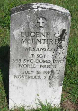 MCENTIRE (VETERAN WWII), EUGENE C - Van Buren County, Arkansas | EUGENE C MCENTIRE (VETERAN WWII) - Arkansas Gravestone Photos