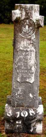 MCGUIRE, J T - Van Buren County, Arkansas | J T MCGUIRE - Arkansas Gravestone Photos