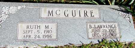 MCGUIRE, RUTH M - Van Buren County, Arkansas | RUTH M MCGUIRE - Arkansas Gravestone Photos
