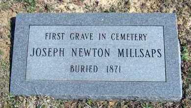 MILLSAPS, JOSEPH NEWTON - Van Buren County, Arkansas | JOSEPH NEWTON MILLSAPS - Arkansas Gravestone Photos