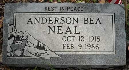 NEAL, ANDERSON BEA - Van Buren County, Arkansas | ANDERSON BEA NEAL - Arkansas Gravestone Photos