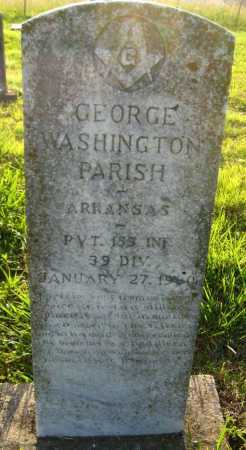 PARISH (VETERAN), GEORGE WASHINGTON - Van Buren County, Arkansas | GEORGE WASHINGTON PARISH (VETERAN) - Arkansas Gravestone Photos
