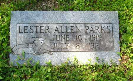 PARKS, LESTER ALLEN - Van Buren County, Arkansas | LESTER ALLEN PARKS - Arkansas Gravestone Photos