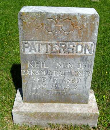 PATTERSON, NEIL - Van Buren County, Arkansas | NEIL PATTERSON - Arkansas Gravestone Photos
