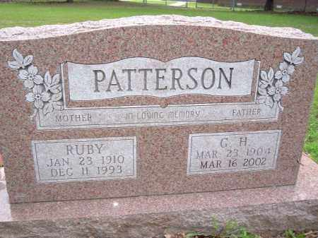 PATTERSON, RUBY - Van Buren County, Arkansas | RUBY PATTERSON - Arkansas Gravestone Photos