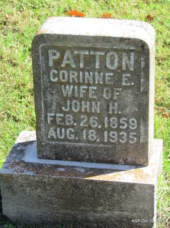 PATTON, CORINNE E - Van Buren County, Arkansas | CORINNE E PATTON - Arkansas Gravestone Photos