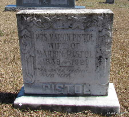 PISTOLE, MARY - Van Buren County, Arkansas | MARY PISTOLE - Arkansas Gravestone Photos