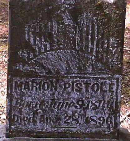 PISTOLE, MARION - Van Buren County, Arkansas | MARION PISTOLE - Arkansas Gravestone Photos
