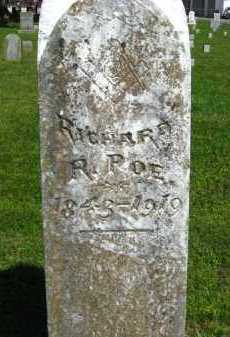 POE (VETERAN CSA), RICHARD R - Van Buren County, Arkansas | RICHARD R POE (VETERAN CSA) - Arkansas Gravestone Photos