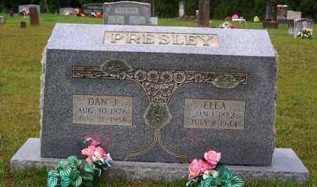 PRESLEY, DAN J - Van Buren County, Arkansas | DAN J PRESLEY - Arkansas Gravestone Photos