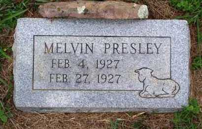 PRESLEY, MELVIN - Van Buren County, Arkansas | MELVIN PRESLEY - Arkansas Gravestone Photos