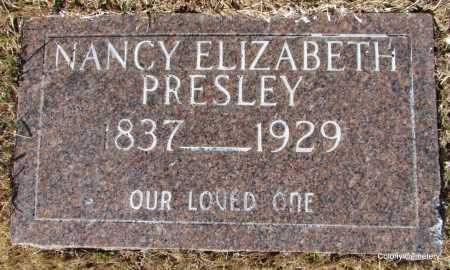 PRESLEY, NANCY ELIZABETH - Van Buren County, Arkansas | NANCY ELIZABETH PRESLEY - Arkansas Gravestone Photos