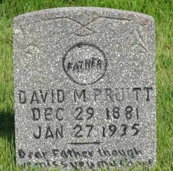 PRUITT, DAVID M - Van Buren County, Arkansas | DAVID M PRUITT - Arkansas Gravestone Photos