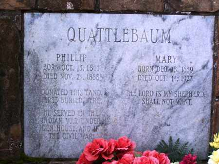 QUATTLEBAUM, MARY - Van Buren County, Arkansas | MARY QUATTLEBAUM - Arkansas Gravestone Photos