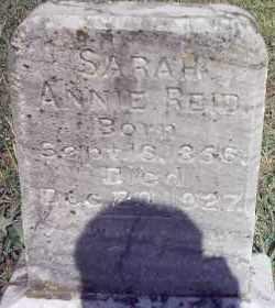 ABBUE REID, SARAH ANNIE - Van Buren County, Arkansas | SARAH ANNIE ABBUE REID - Arkansas Gravestone Photos