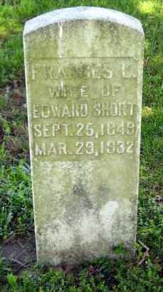 SHORT, FRANCES L - Van Buren County, Arkansas | FRANCES L SHORT - Arkansas Gravestone Photos