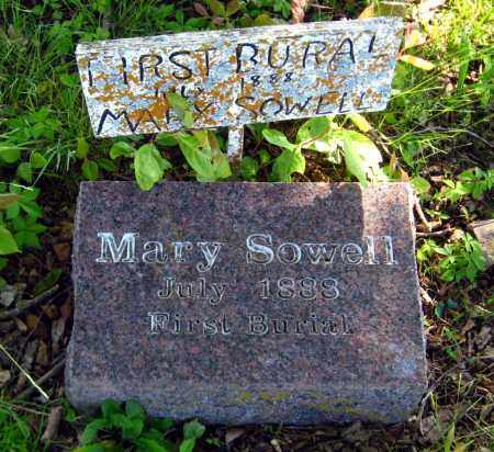 SOWELL, MARY - Van Buren County, Arkansas | MARY SOWELL - Arkansas Gravestone Photos