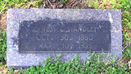 STANDLEY, ERNEST L - Van Buren County, Arkansas | ERNEST L STANDLEY - Arkansas Gravestone Photos