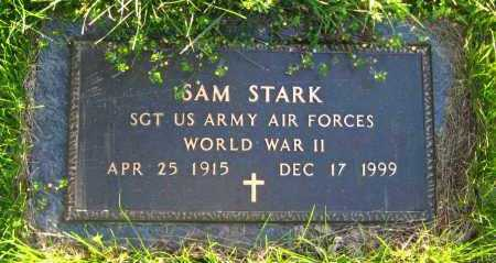 STARK  (VETERAN WWII), SAM - Van Buren County, Arkansas | SAM STARK  (VETERAN WWII) - Arkansas Gravestone Photos