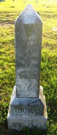 THOMAS, ANGELETH ELIZABETH - Van Buren County, Arkansas   ANGELETH ELIZABETH THOMAS - Arkansas Gravestone Photos
