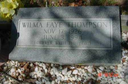 THOMPSON, WILMA FAYE - Van Buren County, Arkansas | WILMA FAYE THOMPSON - Arkansas Gravestone Photos