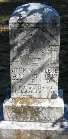 TREECE, JOHN M. - Van Buren County, Arkansas | JOHN M. TREECE - Arkansas Gravestone Photos