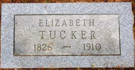 TUCKER, ELIZABETH - Van Buren County, Arkansas | ELIZABETH TUCKER - Arkansas Gravestone Photos