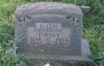FIRESTONE TURNEY, ELLEN - Van Buren County, Arkansas | ELLEN FIRESTONE TURNEY - Arkansas Gravestone Photos