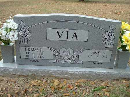 VIA, THOMAS H - Van Buren County, Arkansas | THOMAS H VIA - Arkansas Gravestone Photos